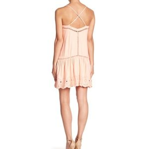 BB Dakota Dresses - B.B. Dakota Kayleen Eyelet Hem Sundress